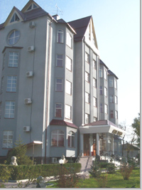 Внешний вид гостиницы Шелковый путь